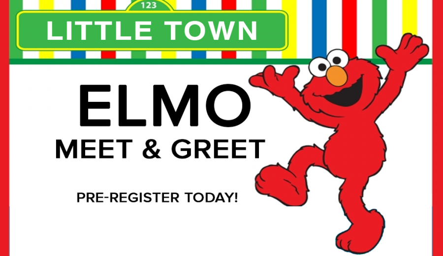 elmo meet greet little town play